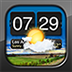 Night Stand for iPad - Free Alarm Clock, Weather & RSS Reader